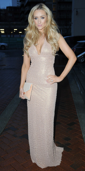 Catherine Tyldesley attends the Annual Mirror Ball at at The Lowry Hotel Manchester, 4 March 2016.