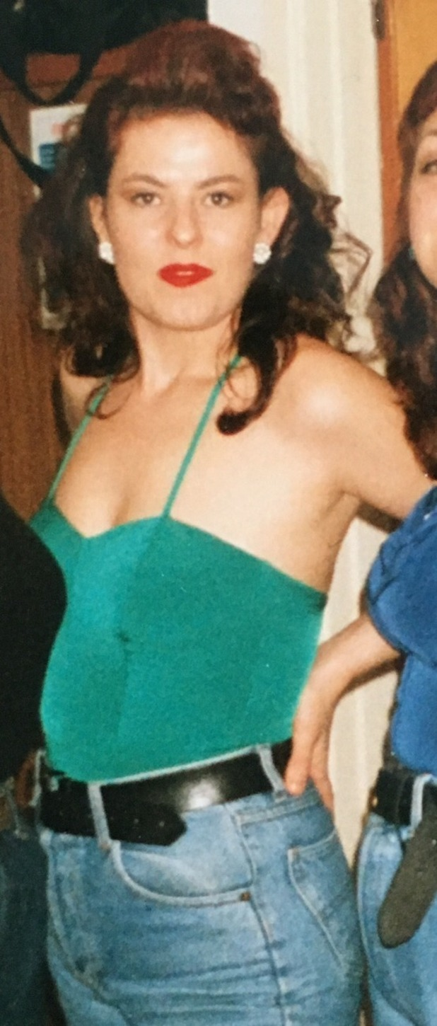 Jackie Rogerson at target weight in 1996