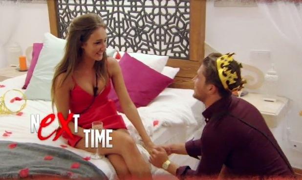Jordan Davies proposes to Megan McKenna? 1 March