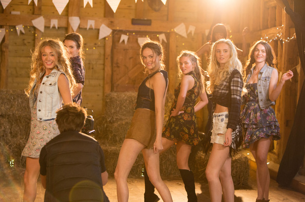 Britain's Next Top Model, The Shires music video shoot: Alex 'Lexi' Kelly