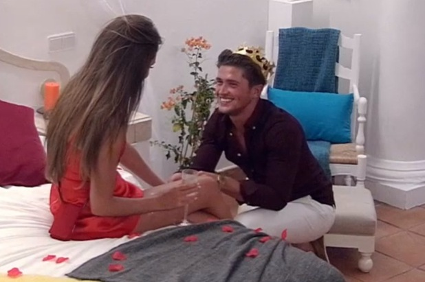 Megan McKenna and Jordan Davies engaged, Ex On The Beach 8 March