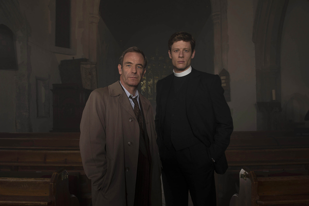 Grantchester, Robson Green, James Norton, Wed 2 Mar