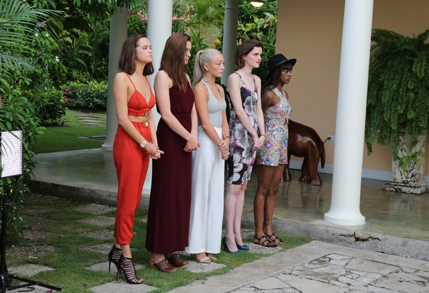 Britain's Next Top Model, The girls in Jamaica. 3 March 2016.
