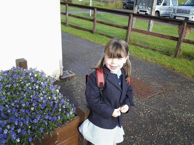 Danni McFadyen has had the support of her school