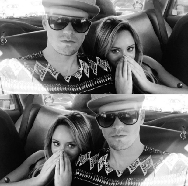 Charlotte Crosby and Gary Beadle, Sydney, Australia 1 March