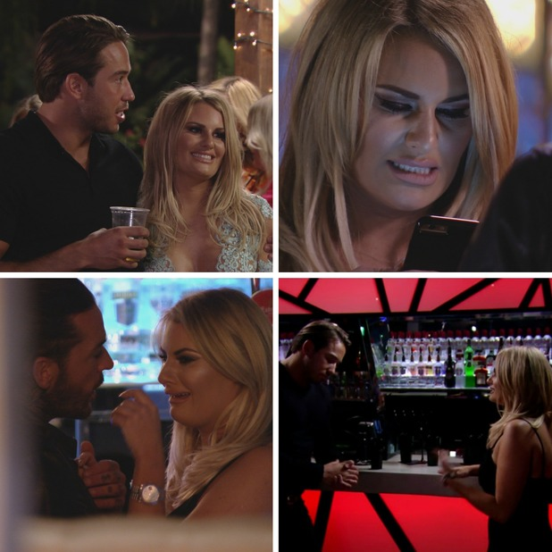 Danielle Armstrong, TOWIE, series 17 episode 1. 28 February 2015.