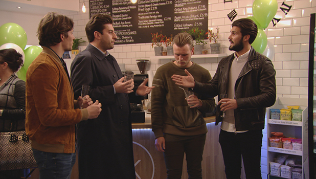 TOWIE Series 17, Episode 2: Tommy tells Lewis that Dan is still annoyed with him, but Arg refuses to turn his back on Lewis