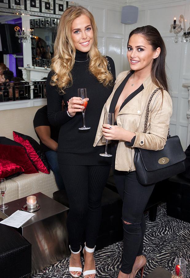 Dr. Leah Cosmetic Skin Clinic event, Chigwell, Britain - 29 Feb 2016 Chloe Meadows & Courtney Green