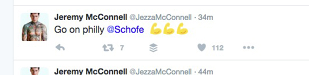 Jeremy McConnell replies to Phillip Schofield 3 March 2016