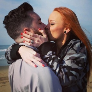Maci Bookout engaged to fiance Taylor McKinney, Instagram January 2016