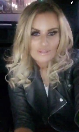 Danielle Armstrong admits she has been a bitch on Snapchat 9 March