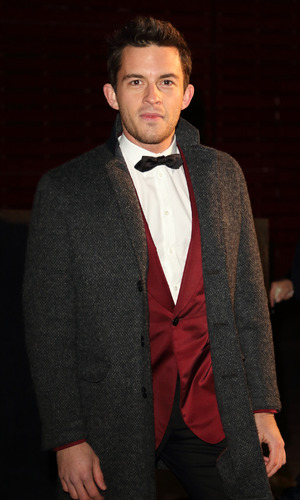 Jonathan Bailey - Bright Young Things Gala at the National Theatre, South Bank, London. 2 March 2016.
