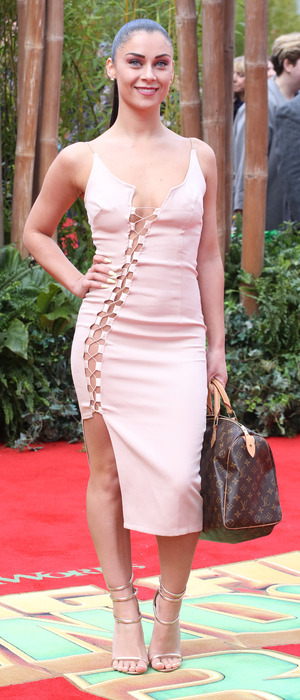 Love Island's Cally Jane Beech at the Kung Fu Panda 3 European Premiere in London, 6th March 2016