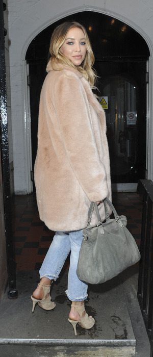 Former TOWIE star Lauren Pope spotted out and about in London, 9th March 2016