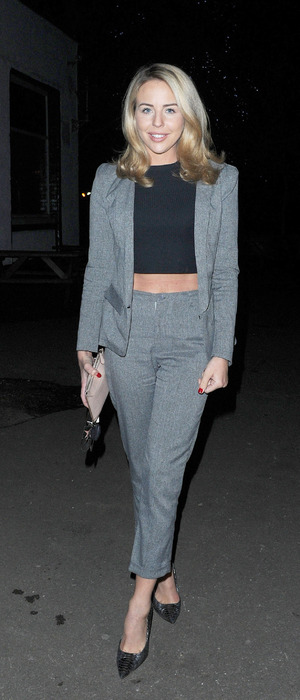 TOWIE's Lydia Bright joined cast members at pub quiz to celebrate the show's 200th episode, Essex, 10th March 2016
