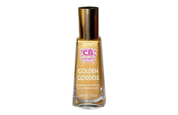 Cocoa Brown Golden Goddess Shimmering Dry Body Oil, £9.99 11th March 2016