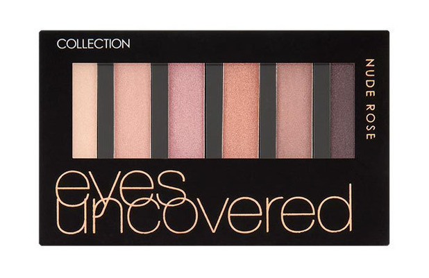 COLLECTION Eyes Uncovered Palette Nude Rose £3.99 7th March 2016