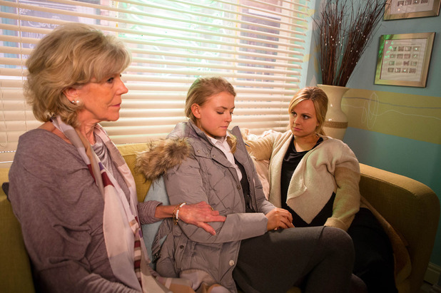 Corrie, Bethany tells Sarah about her bullying, Wed 9 Mar