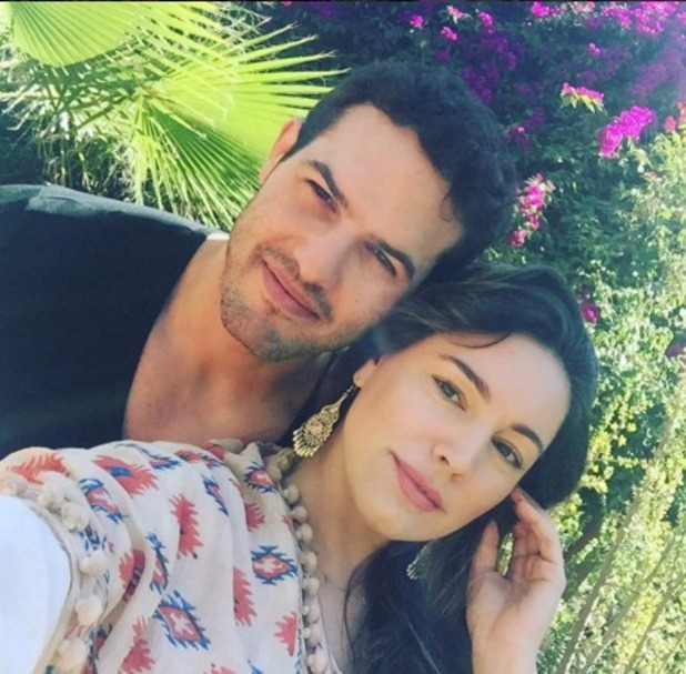 Kelly Brook and boyfriend Jeremy Parisi in Marrakech, Morocco, 7 March 2016