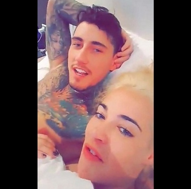 Stephanie Davis confirms she's back with Jeremy McConnell 10 March 2016