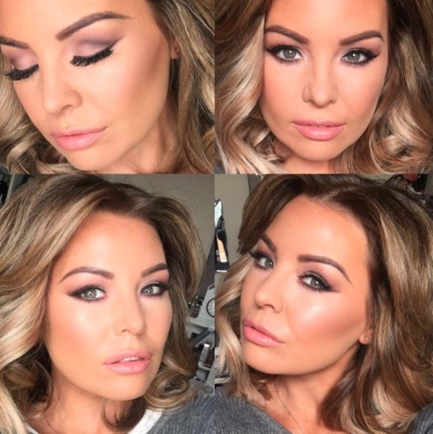 Former TOWIE star Jess Wright shares Instagram selfie in which she wears the Revlon ColorBurst in Cherish, £7.99 on her lips, 8th March 2016