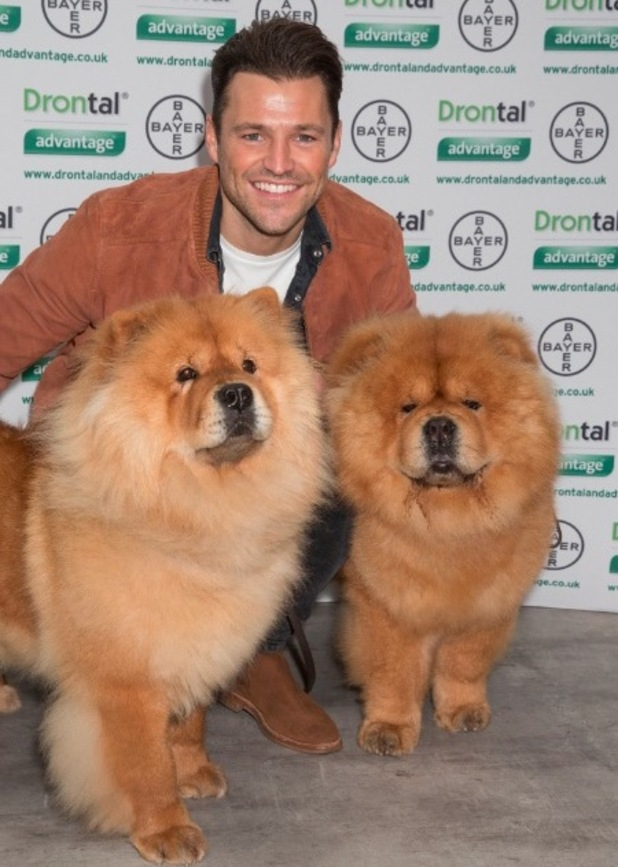 Mark Wright made a guest appearance at Crufts to help celebrate everything we love about man's best friend, 11 March 2016