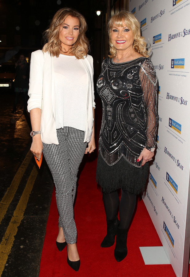 TOWIE stars Carol Wright and Jess Wright attend the Royal Caribbean Cruise Ship launch event party in London, 8th March 2016