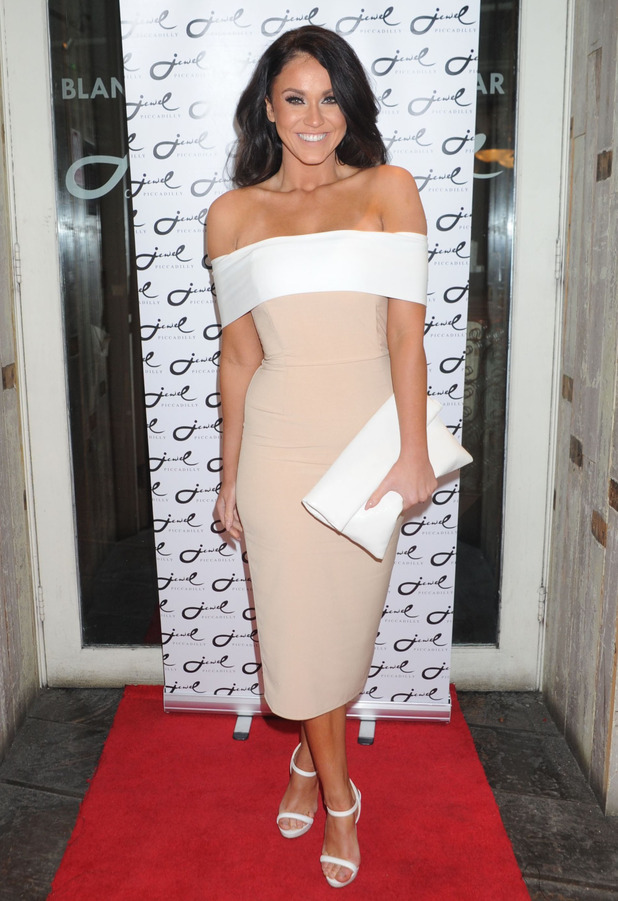 Geordie Shore Vicky Pattison at the Jake Quickenden EP Launch Party in London, 9th March 2016