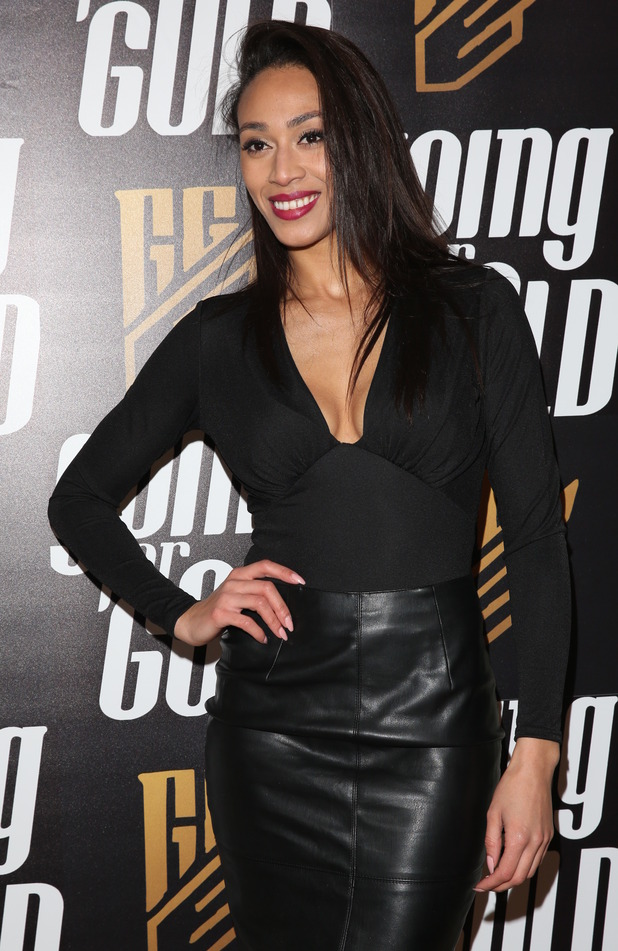 Rachel Christie at her Going For Gold' magazine launch party. 19 January 2016.