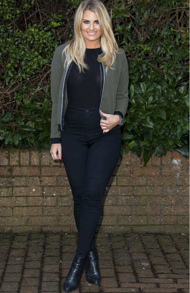 TOWIE's Danielle Armstrong out and about in Essex, 6th March 2016