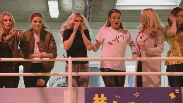 TOWIE Series 17, Episode 4. Airs 9 March 2016 The girls cheer on the boys playing football
