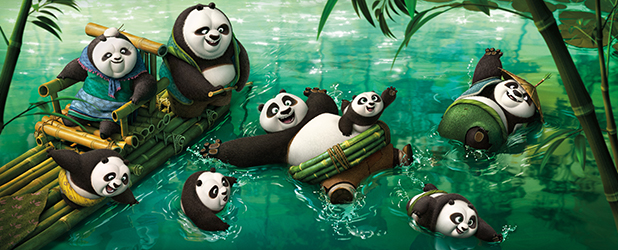 Kung Fu Panda 3 Movie, released March 2016
