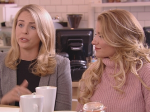 TOWIE: Lydia talks to Kate. 16 March 2016.