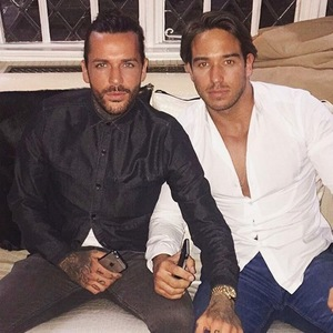 Pete Wicks and James Lock selfie 8 March 2016