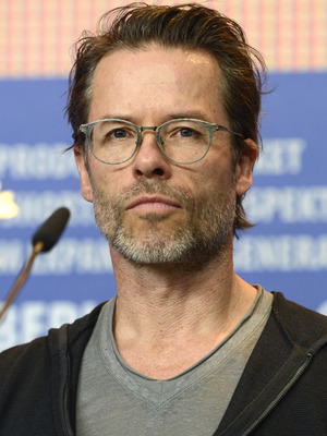 Guy Pearce attends the 'Genius' press conference at the 66th Berlin International Film Festival, February 2016.