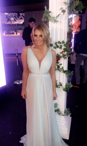 Danielle Armstrong shares behind-the-scenes photos of TOWIE filming 16 March
