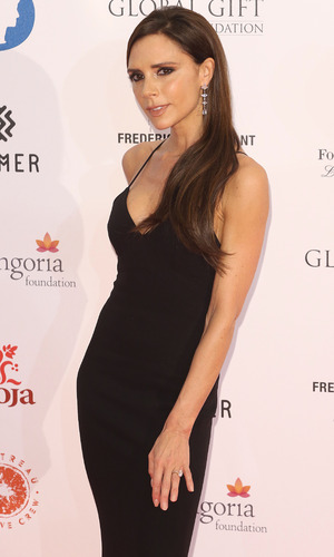 Victoria Beckham at the Global Gift Gala 2015 held at the Four Seasons Hotel - Arrivals 11/30/2015