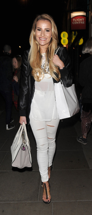 TOWIE's Georgia Kousoulou out and about in London, 17th March 2016