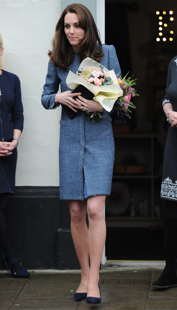 Catherine, Duchess of Cambridge opens the new East Anglia Childrens Hospice. 18 March 2016.