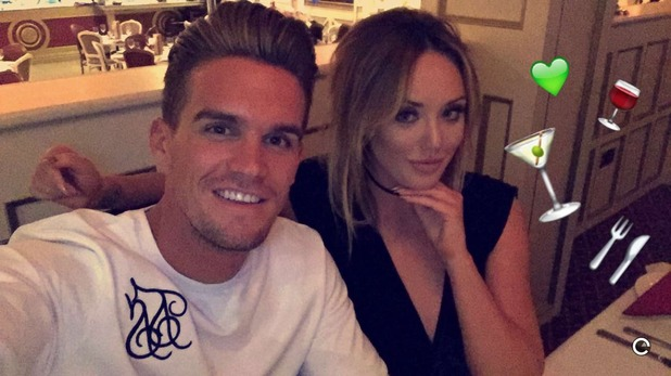 Gary Beadle and Charlotte Crosby - 14 March 2016.