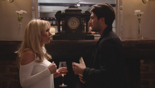 TOWIE: Kate Wright has it out with boyfriend Dan. 16 March 2016.