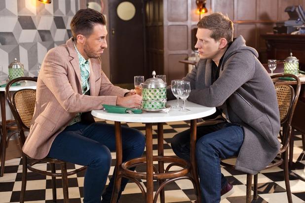 Hollyoaks, John Paul helps Scott, Wed 18 Mar