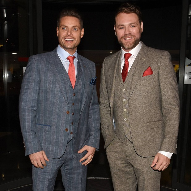 Brian McFadden and Keith Duffy, March 2016.