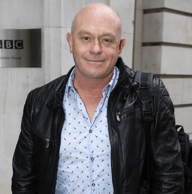 Ross Kemp seen leaving the BBC Radio 2 Studios on January 16, 2015 in London, England.
