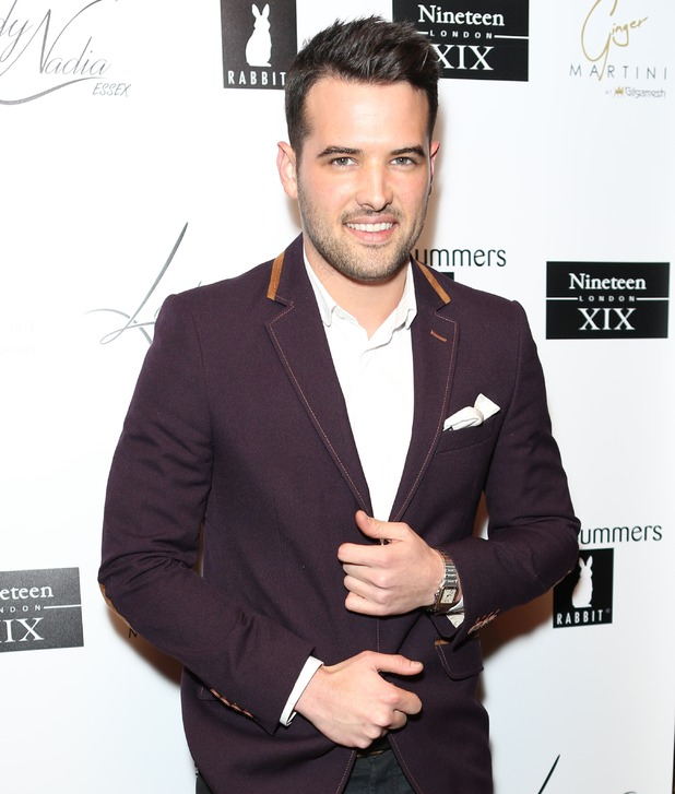 Ricky Rayment attends Lady Nadia Essex's Valentine's Day Party. 11 February 2016.