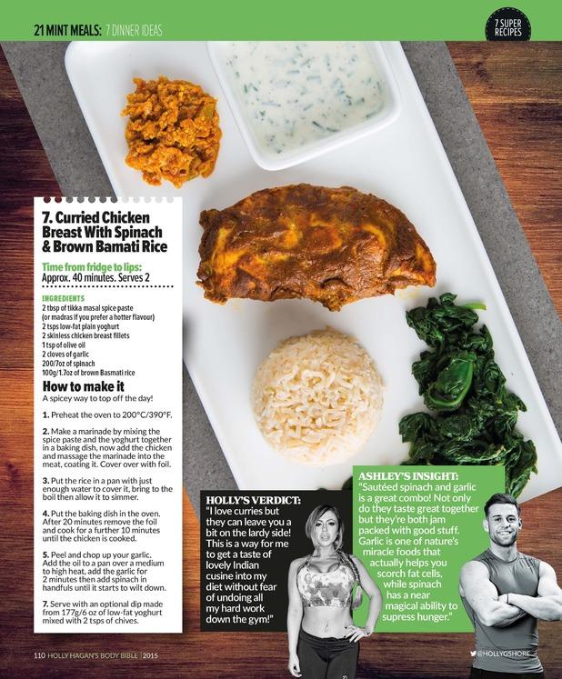 Holly Hagan Body Bible new recipe 16 March