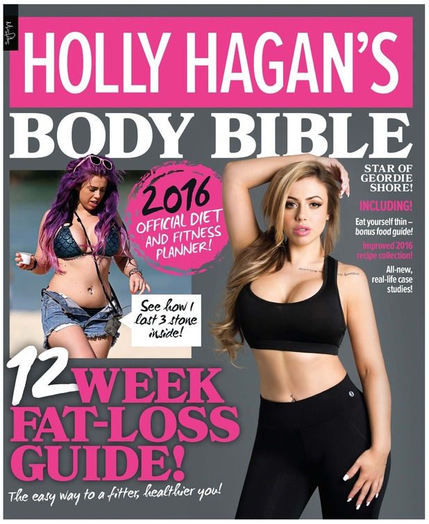 Holly Hagan releases update to her Body Bible fitness and diet guide 16 March