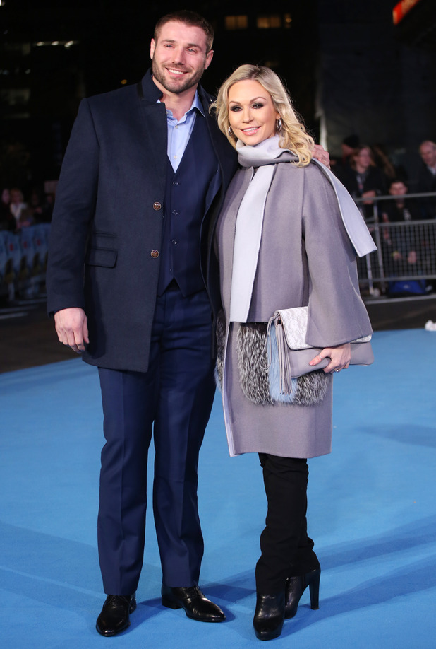 Ben Cohen and Kristina Rihanoff - Eddie the Eagle European Premiere held at the Odeon cinema - Arrivals 18 March 2016.