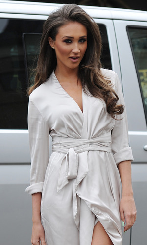 Ex On The Beach star Megan McKenna on a date with TOWIE's Pete Wicks, Essex, 23rd March 2016