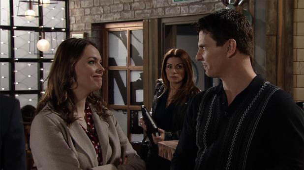 Corrie, Carla panicked by Tracy, Fri 25 Mar